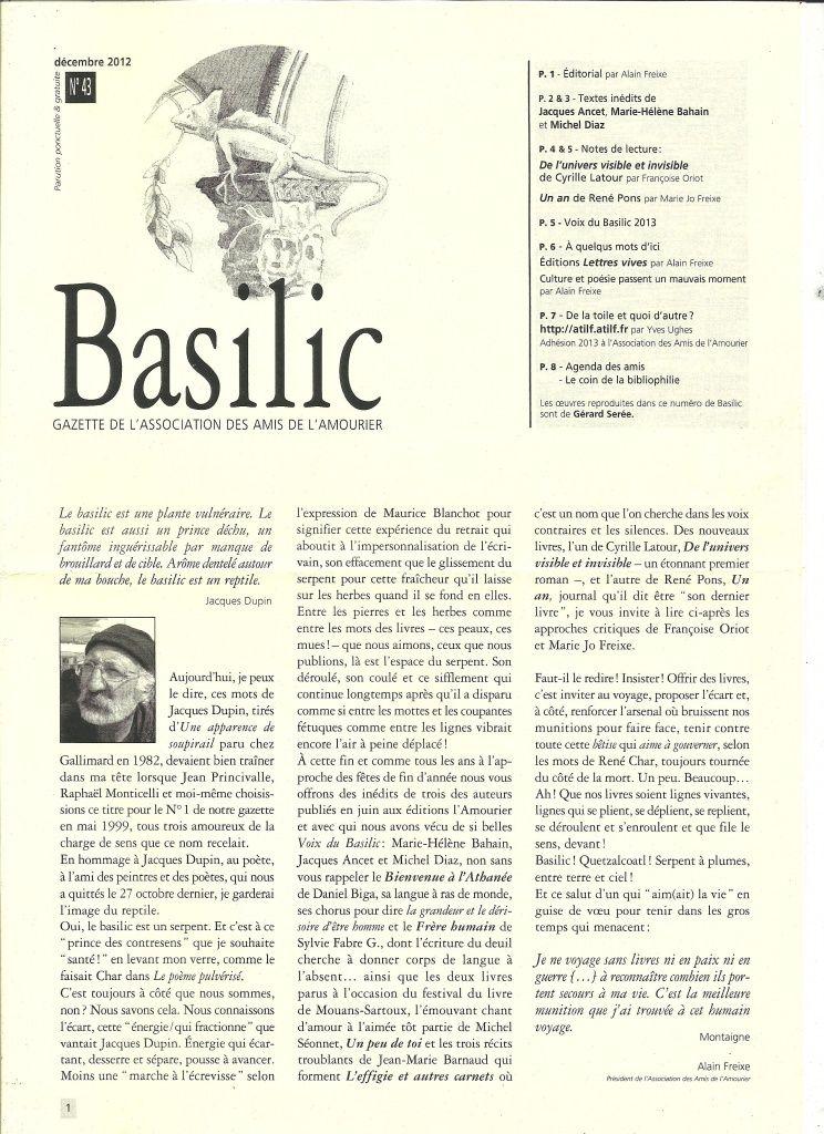 La voix du basilic