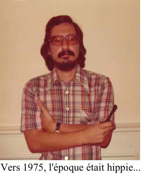 L'époque était hippie 1975
