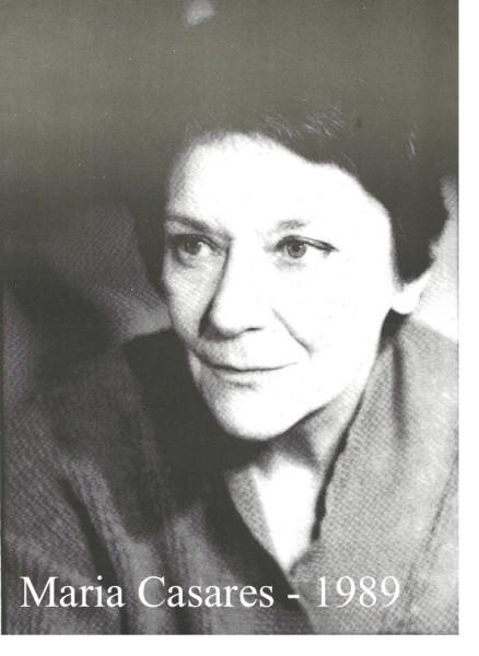 Maria Casares 1989