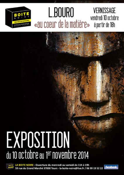 Affiche Expo Bouro
