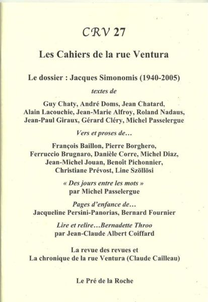 Cahiers de la rue Ventura N° 27_4